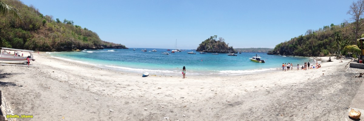 Found Paradise in Nusa Penida - Crystal Bay Beach