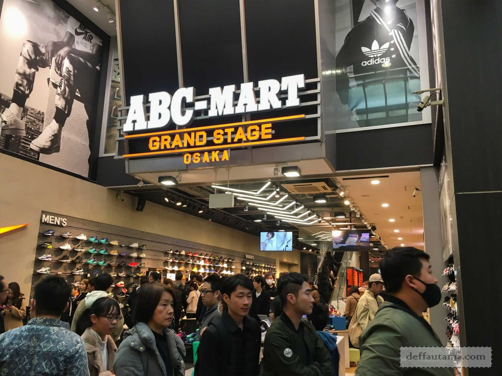 ABC-Mart Grand Stage Osaka Shinsaibashi