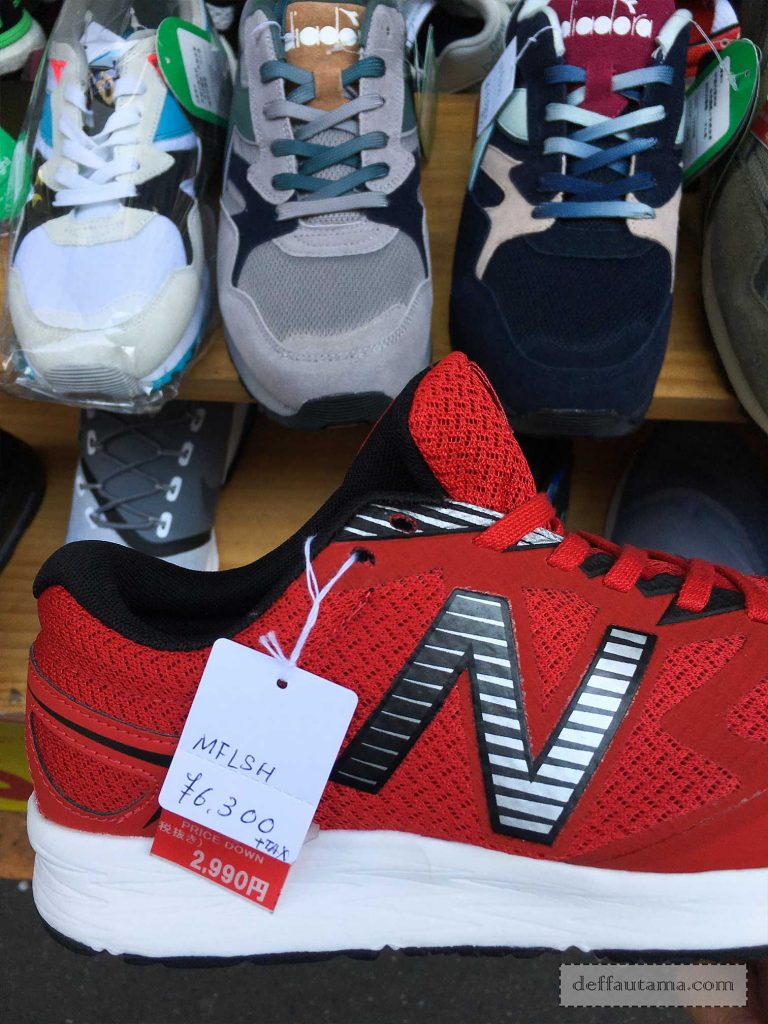 New Balance Price Down to 2990 Yen