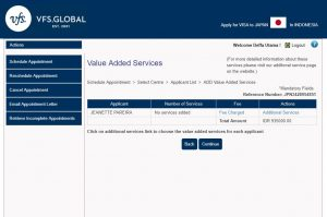 Alur daftar online di website VFS Global 3