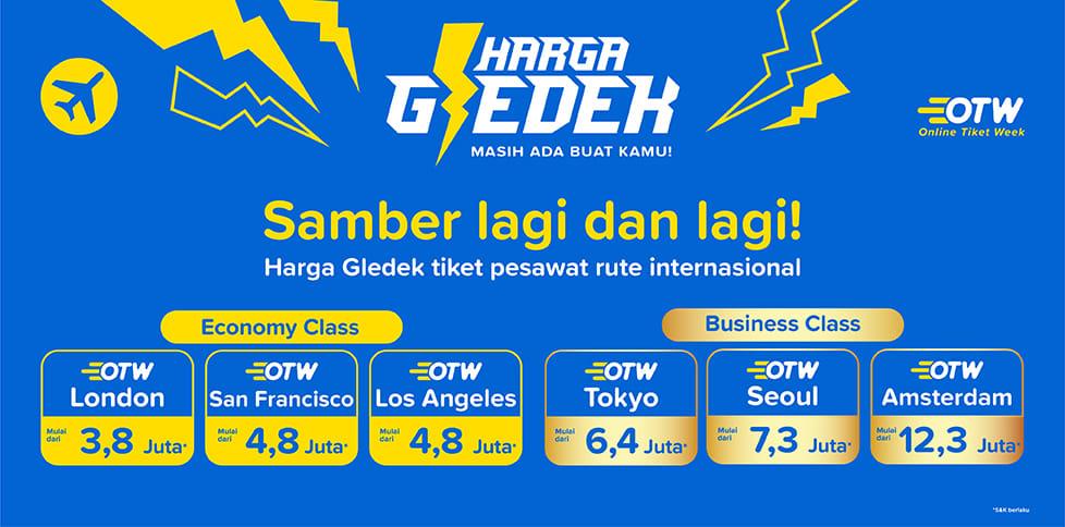 Promo Gledek Tiket.com