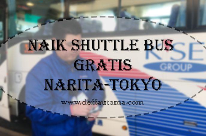 Naik Shuttle Bus Gratis dari Narita Airport ke Tokyo Station